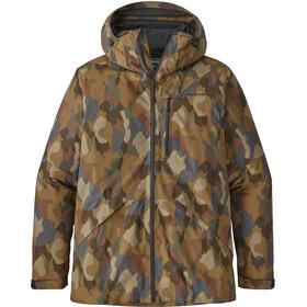 Patagonia Snowshot Jacket Herr bunker camo multi: mojave khaki